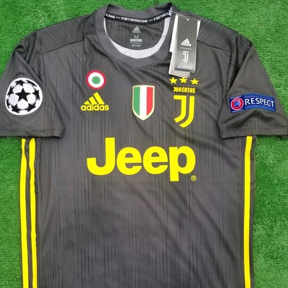 987a68e0e 2018 19 Juventus 3rd kit soccer jersey Dybala